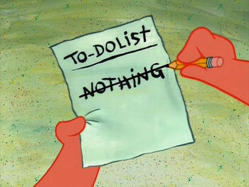 Nothing To Do List
