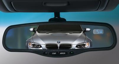 Tailgating BMW
