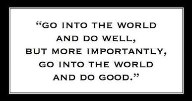 Do Good Do Well
