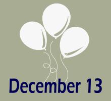 December 13