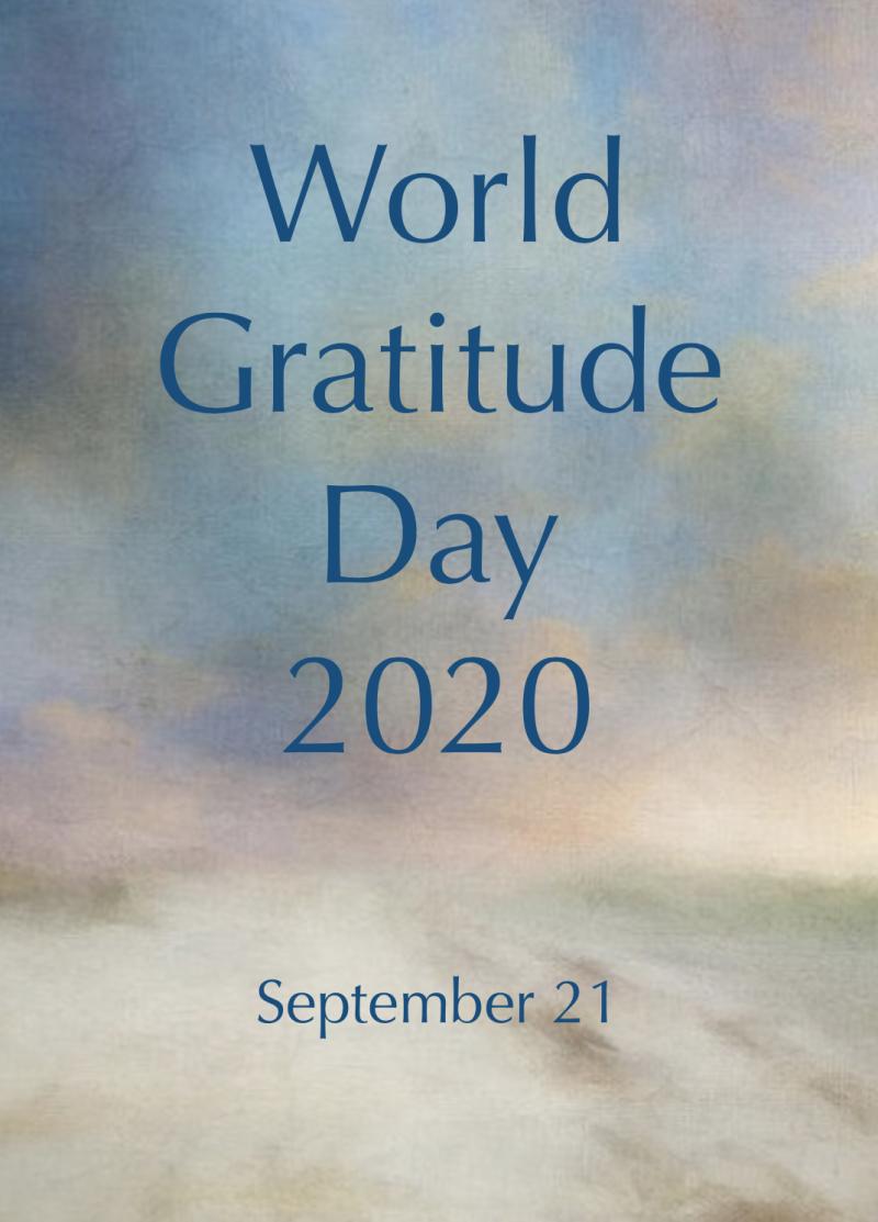 World Gratitude Day 2020